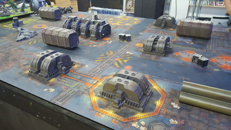 Table de jeu Warhammer 40k