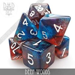 Deep Woods Dice Set