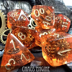 Chaos Engine Dice set