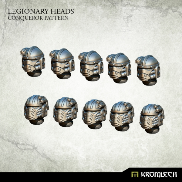 Legionary Conqueror Heads