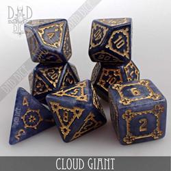 Cloud Giant Dice Set