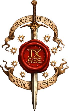 Logo 9th Age / Neuvième Âge