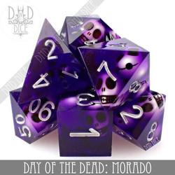 Day of the Dead - Morado Dice Set
