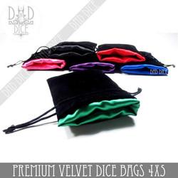 Premium Velver Dice Bags
