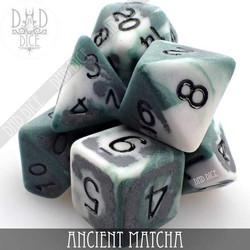 Ancient Matcha Dice Set