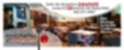 Salle de réception 120 places location grauite - Fourchettes et Pigments - 22, ru du Marché, Salaberry-de-Valleyfield