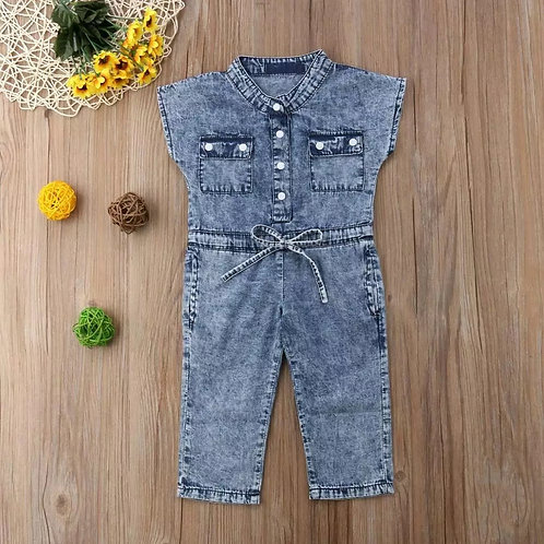 Toddler Denim Jumpsuit