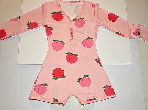 Peachy pj onesie