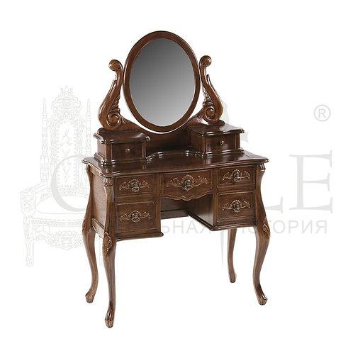 Туалетный столик с зеркалом MK-2462-NM, CM-M-1030