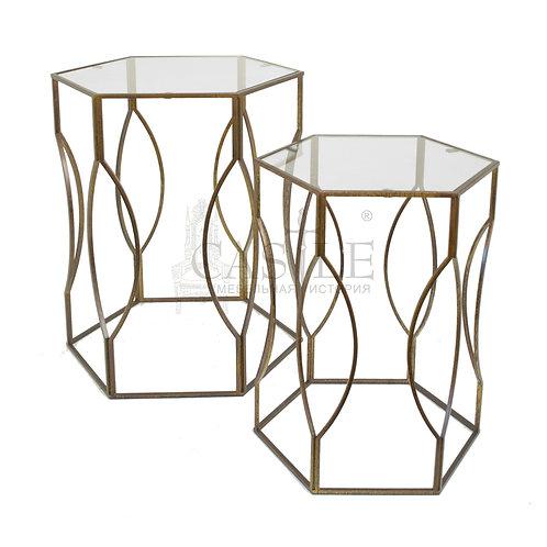 Комплект из 2 столиков Veleda 27278
