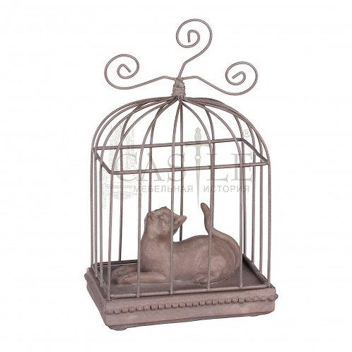 Статуэтка «Кошка в клетке»
