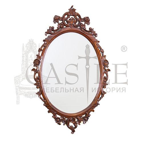 Зеркало овальное резное E089-HP, PMI 98, CM-U-84