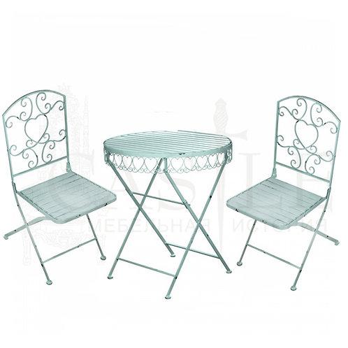 Комплект кованой мебели (стол, 2 стула)
