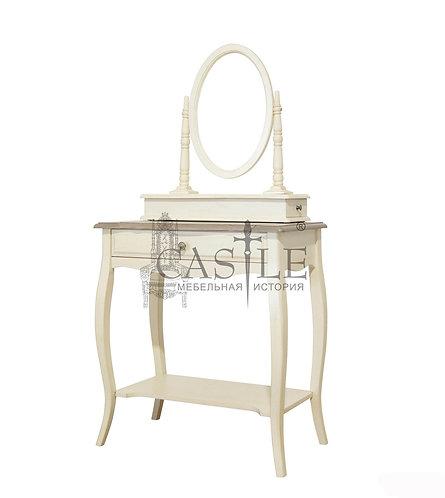 Столик туалетный с зеркалом ST9321, MK-5031-AWB, CM-M-492. Прованс