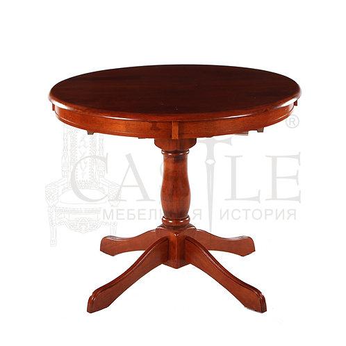 n0003250, MK-1210-MB, Стол DM-T4EX Real цвет: MAF Brown - круглый раскладной, 90*90(125)*75, CM-M-36