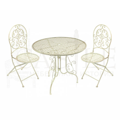 Комплект кованой мебели (стол и 2 стула)