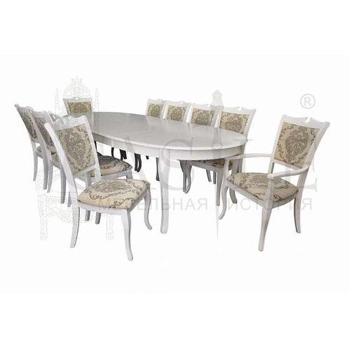 Стол обеденный раскладной Emperor RY-T10EX2LB
