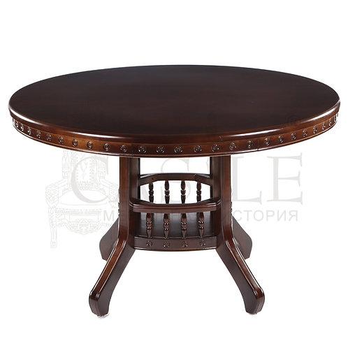 n002729, MK-1402-CH, Стол 318 цвет: Chocolate - круглый, 120х120х75 см