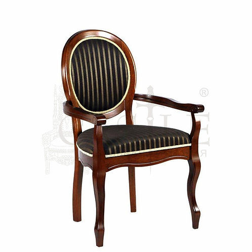 CM-M-63, n002844, MK-1205-ES, Кресло FN-AC Fiona цвет: Espresso, ткань ТХ-10В (по 2 шт./1 кор.) 60*52*97