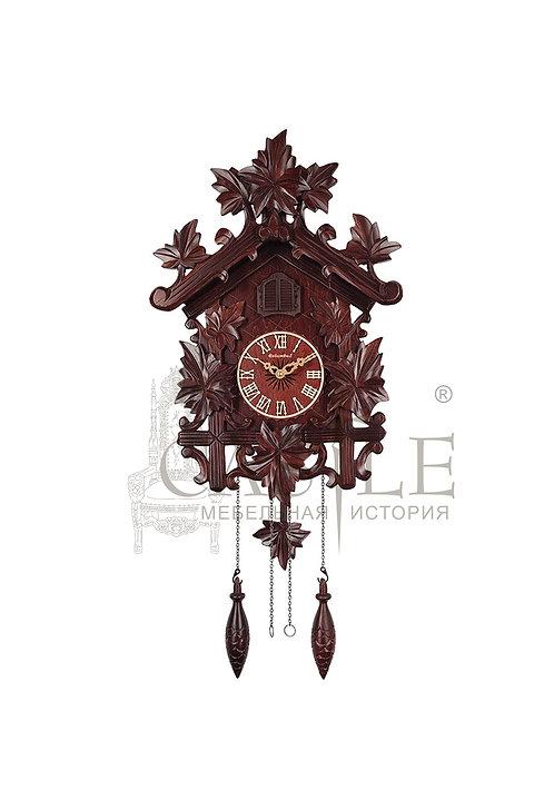 Часы настенные с кукушкой «Дикий плющ»