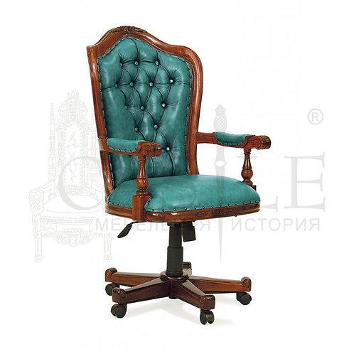 Кресло для кабинета CM-U-11, PAC 23 кресло кожаное