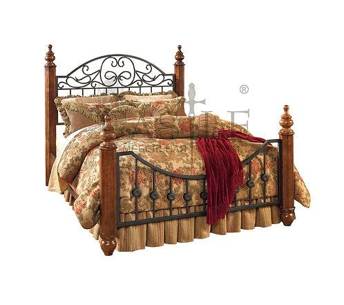 Кровать Wyatt B429-150/429-71/429-98, CM-GA-56