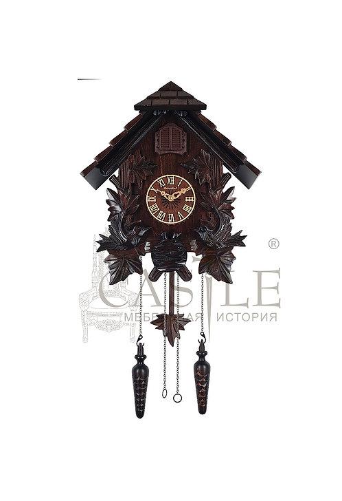 Часы настенные с кукушкой «Птенцы в гнезде»