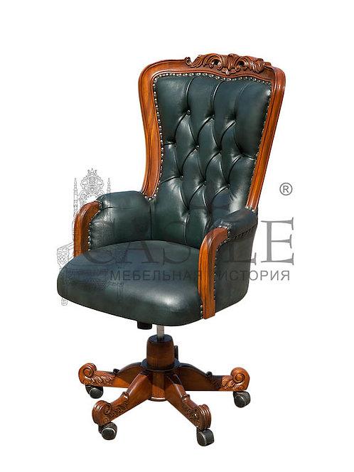 Кресло для кабинета «Черчилль» C98E-ASD-GL, CM-GI-256