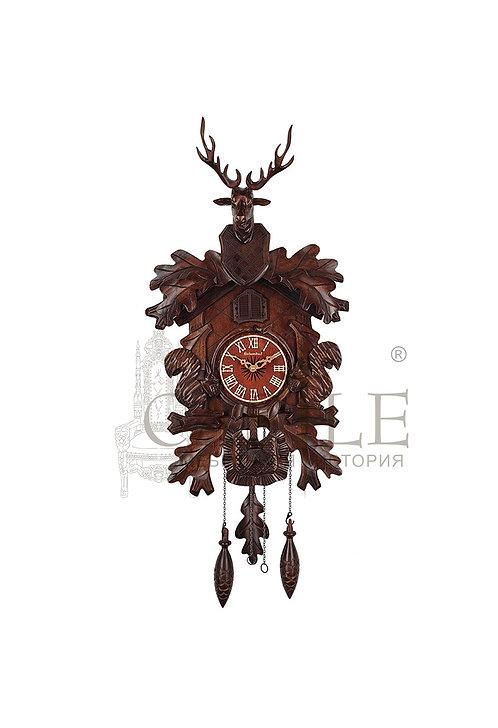 Часы настенные с кукушкой «Олень»