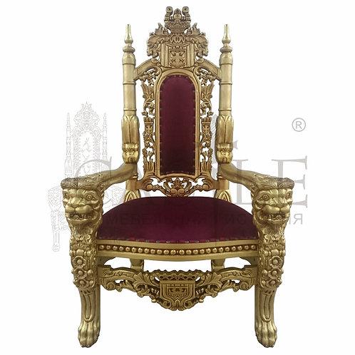 Кресло «Трон Лев» C38E-G-5, CM-GI-15