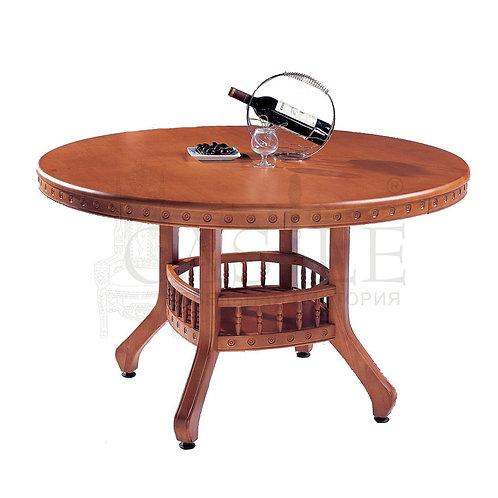 n002728, MK-1402-LC, Стол 318  цвет: Light Cherry - круглый, 120х120х75 см