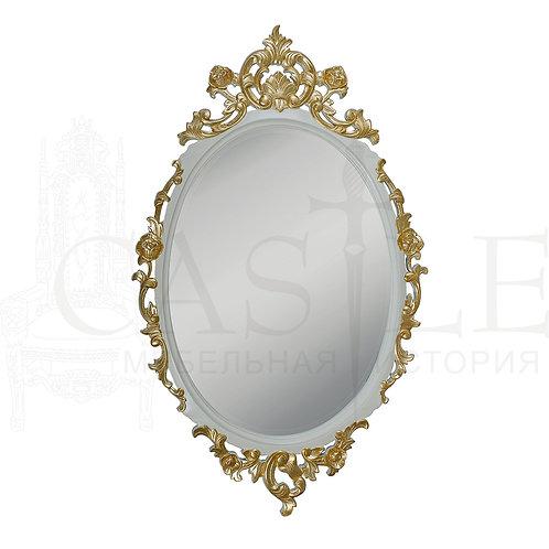 Зеркало овальное резное CM-U-149, WMI 98