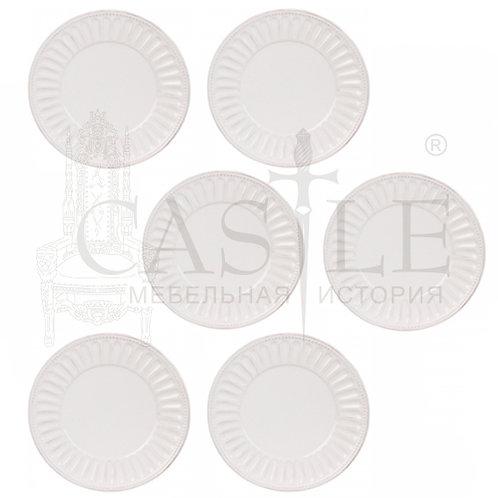 Набор «Рельеф» из 6-ти обеденных тарелок MC08-0015