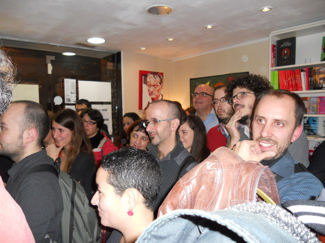Presentación de Fricciones en la librería Pequod Llibres (Barcelona, 25/11/2011)