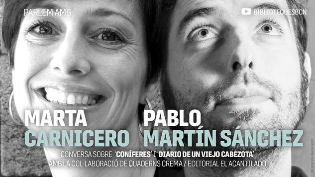 Charla con Marta Carnicero