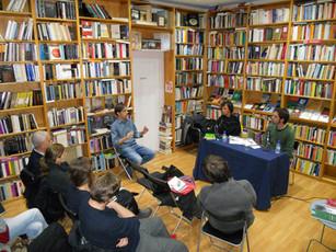 Presentación de Fricciones en la librería Juan Rulfo (Madrid, 16/11/2011)