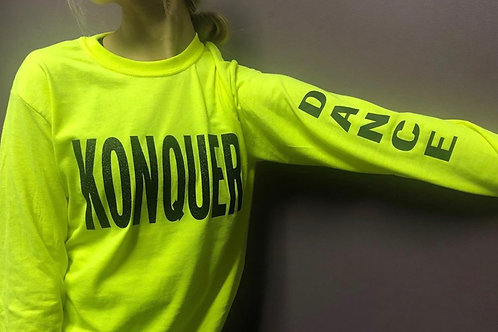 Neon Long Sleeve with Glitter