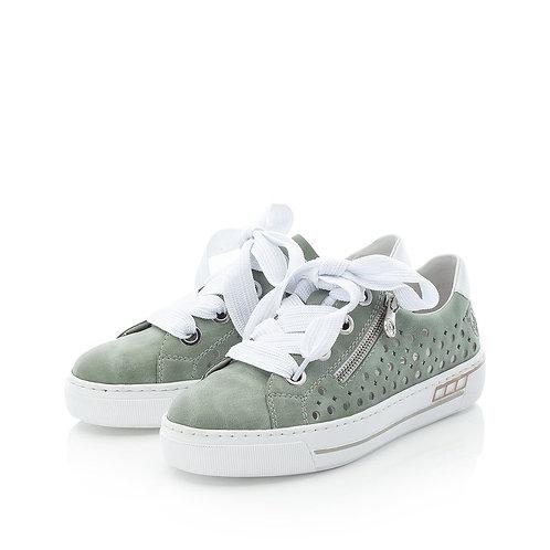 RIEKER Sneaker grün