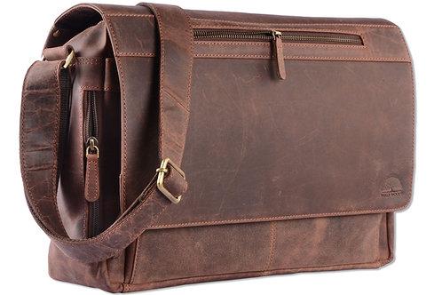 Wild Woods Laptop Messenger Bag