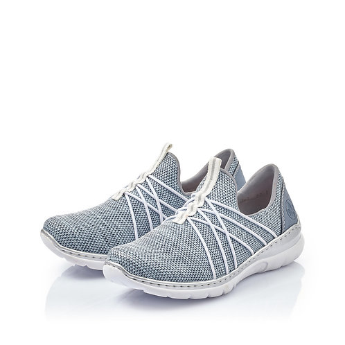 RIEKER Sneaker hellblau