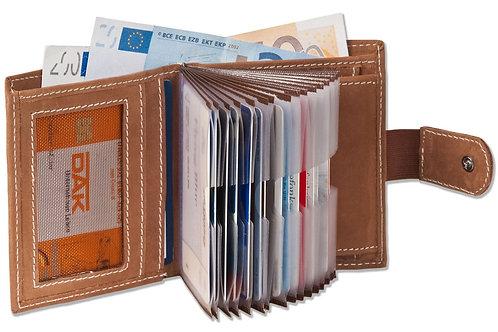 Woodland Geldbörse 21 Kartenfächer