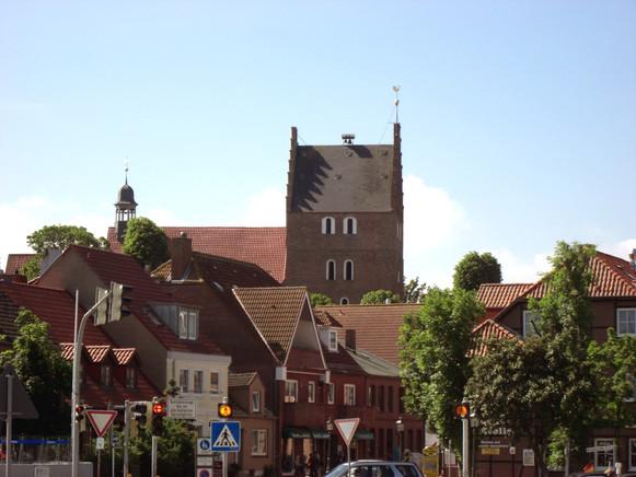 Stadtkirche, Blick in die Brückstraße