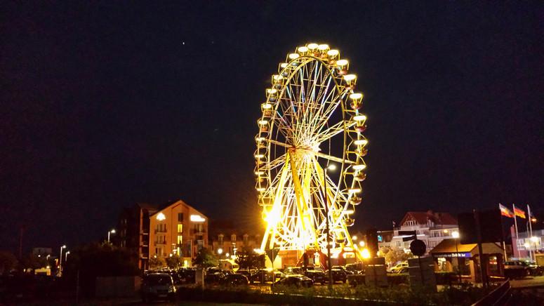 Riesenrad am Abend
