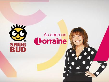 SnugBud on ITV's Lorraine Show