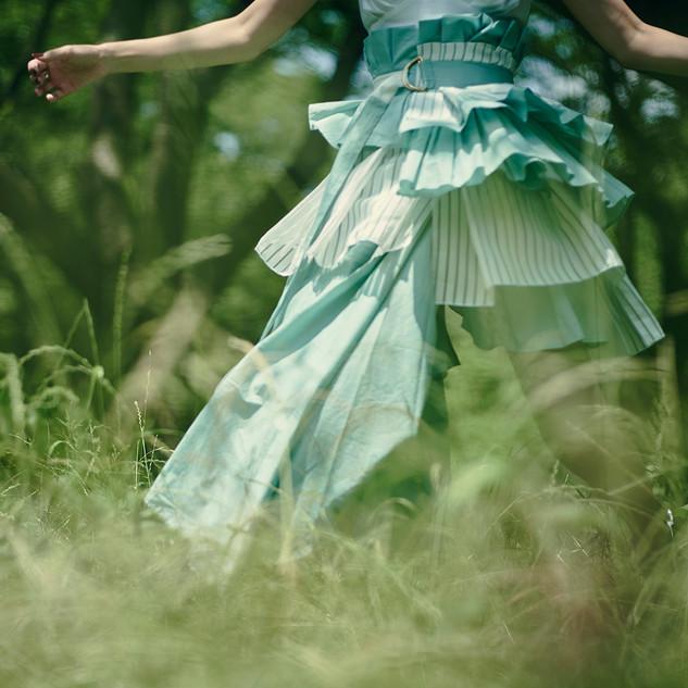shirt dress & wrap skirt