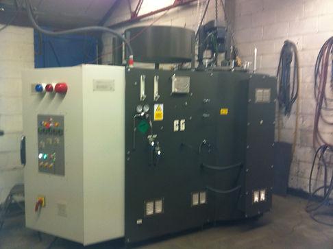 compact gas nitriding furnace