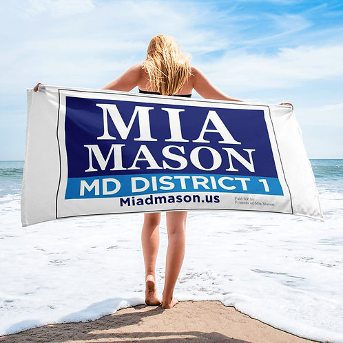 Voting Towel by Friends of Mia Mason