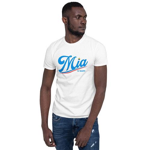 Mia Short-Sleeve Unisex T-Shirt
