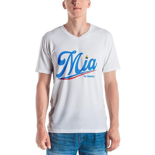 Mia Men's V Neck T-shirt