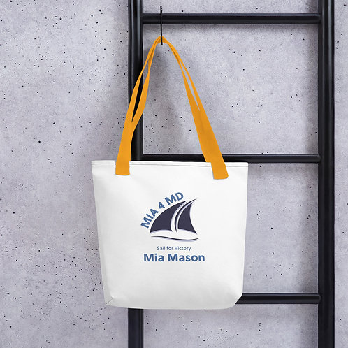 Sail into Victory Tote bag by Friends of Mia Mason